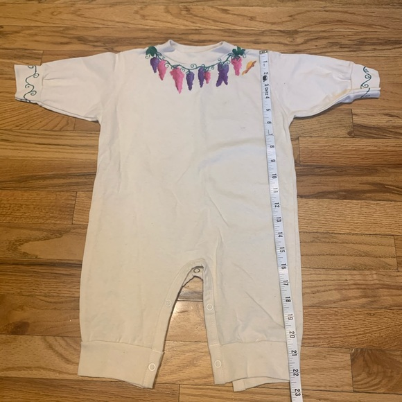 Cute Hand-painted indie a girly florals - 12mos